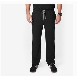 FIGS Axim black cargo scrub pants Large tall